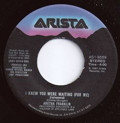 I Knew You Were Waiting (For Me) / Aretha Franklin / #1 on Billboard