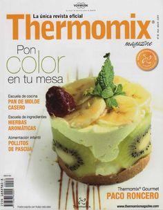 Revista thermomix nº30 pon color en tu mesa