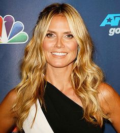 Beachy-chic is Heidi Klum's go-to look! Click through for more favorite celebrity looks here: http://www.bhg.com/beauty-fashion/hair/favorite-celebrity-hairstyles/?socsrc=bhgpin082614heidiklum&page=3