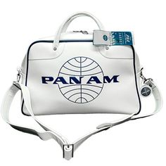 The Pan Am Orion bag, the true first bag of the jet-set era.