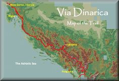 Via Dinarica is a multinational hiking trail that extends from Slovenia to Albania. One of the main goals of the project is to promote and develop the local mountain communities and small businesses that are active on local, national, and international level in the field of hospitality, service and tourism, as well as agriculture and cultural heritage. Sustainable tourism at its finest in the last true wilderness frontier in Europe. >>> This sounds like an amazing trail!