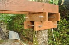 Impressive Schools For Woodworking Ideas. Incredible Schools For Woodworking Ideas. Backyard For Kids, Backyard Projects, Wood Projects, Treehouse Cabins, Building A Treehouse, Treehouses, Trailer Casa, Tree Deck, Tree Tree
