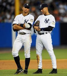 After his trade to the Yankees, Alex Rodriguez needed to switch positions from shortstop to third base to accommodate Derek Jeter