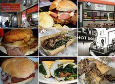 Phillys iconic sandwiches.