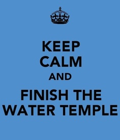 current status : eating riceballs while doing the water temple in oot. kyaa! it's my second time!