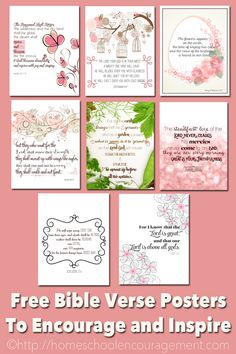 Bible Verses to Encourage and Inspire Homeschool Moms Free Printable - PIN Printable Bible Verses, Scripture Cards, Prayer Cards, Bible Scriptures, Bible Quotes, Printable Quotes, Prayer Journal Printable, Free Bible, Free Printables
