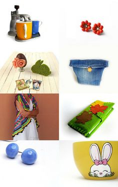 Colorful Items from my Favorites by Anella on Etsy--Pinned with TreasuryPin.com