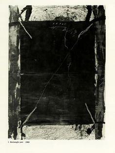 Antoni Tàpies - Derrière le miroir, Encres et Collages, 1968