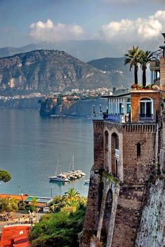 Sorrento, Italy - this picture doesn't even do this town justice!