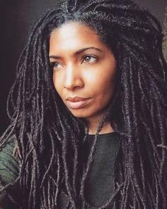 So naturally gorgeous. I love locs! Natural Hair Care, Natural Hair Styles, Coiffure Hair, Pelo Afro, Dreadlock Hairstyles, Natural Hair Inspiration, African American Hairstyles, Black Girls Hairstyles, Hair Inspo