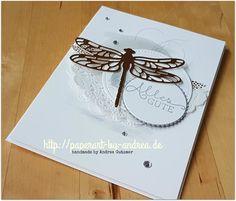 Butterflies or Rose Garden, Stampin Up, Dragonflies