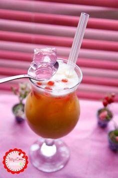 Hello Kitty drink.