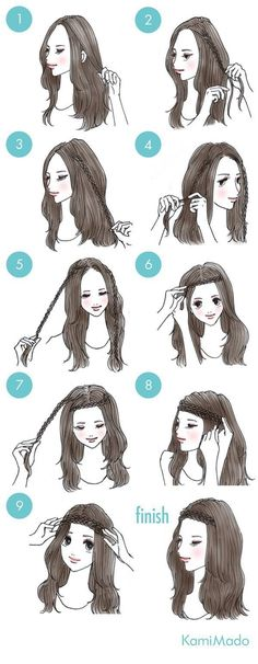 Trendy Hair Braids Headband Easy Hairstyles – - All For Hairstyles DIY Different Braid Hairstyles, Different Braids, Trendy Hairstyles, Braided Hairstyles, Hairstyles 2018, Simple Hairstyles For Long Hair, Wedding Hairstyles, Beach Hairstyles, Creative Hairstyles