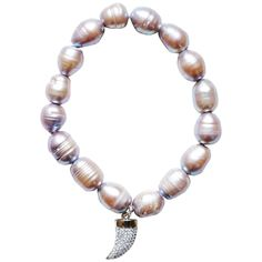 Mother of Pearl Charm Bracelet