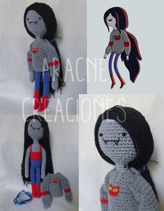 "Amigurumi. Marceline from ""Adventure time"""