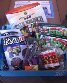 Tasterie Snack Box - September 2012 Review - Monthly Food Allergy Free Subscription Boxes