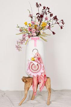 ITEM 6.2 ~ DAHLIA | Isobel Badin Herbaceous Perennials, Language Of Flowers, Dahlia Flower, Craft Bags, Pink Quartz, Pink Opal, Blooming Flowers, Pretty Little, Pink Color