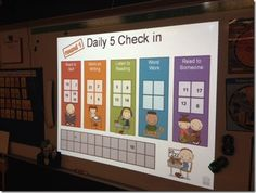 Great ideas and explanation of what the daily 5 looks in her classroom