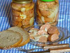 Utopenci Czech Recipes, Russian Recipes, Good Food, Yummy Food, Polish Recipes, Pretzel Bites, Preserves, Sausage, Foodies