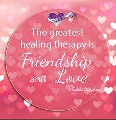 In most mental illness those who fare the best are those who have strong support and who know there are people who care for them. All of us are created to connect with others in a loving and caring relationship.