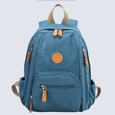 stacy bag high quality women backpack girl fashion small travel backpack lady canvas travel bag student school bag casual bag $17.00