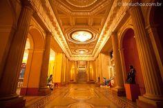 Galeria de entrada do Museu Nacional de Belas Artes, Rio de Janeiro