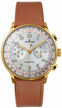 Junghans Meister Telemeter Watch Is Going For Distance!  And Going For Speed!   watch releases