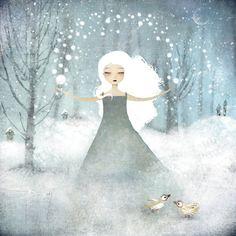 'La Fille de la Neige' - Anne Julie Aubry