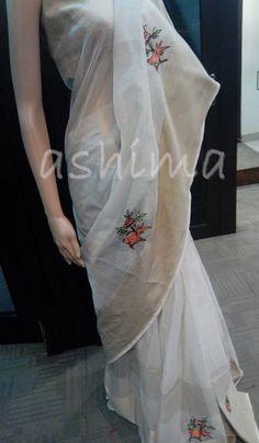 Code:2710169 - Maheshwari Saree With Hand Embroidery, Price INR:6690/-