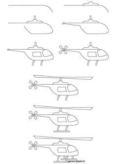 Dibujar helicóptero