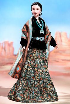 2004 - Dolls of the World® - The Princess Collection - Princess of the Navajo Barbie® #B8956