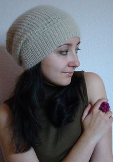free #knitting pattern for this fabulous beanie hat