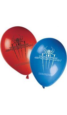 Sachet de 8 Ballons Spiderman™