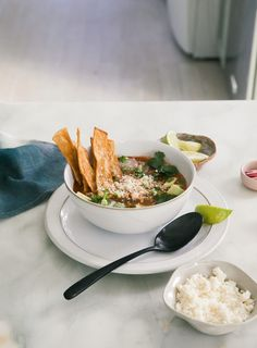 Enchilada Chicken Tortilla Soup – A Cozy Kitchen