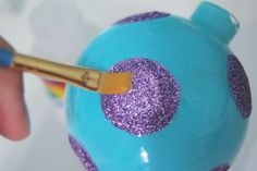cute ideas for acrylic ornaments | Love love love this technique on diy glitter tape and magnet here . do ...