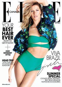 elle canada gisele bundchen Gisele Bundchen Stars in Elle Canada, Talks the World Cup Being in Brazil