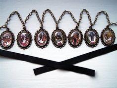 Undertaker Black Butler Waist Chain/ Necklace
