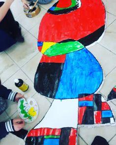 Ταξίδια  τέχνης για παιδιά: ΓΥΝΑΙΚΑ , ΑΣΤΡΑ ΚΑΙ ΠΟΥΛΙΑ- JOAN MIRO