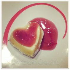 """Cuoricini di formaggio con gelatina di """"Dolcetto"""" -  Heart cheese"""