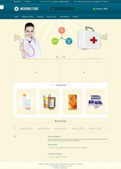 OPC060143 - Responsive OpenCart Medicine Store Template