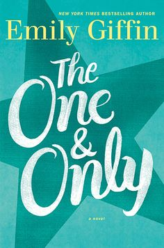 First look at Emily Giffin's novel #OneAndOnly, out in May! (Big fan and reading this manuscript now)