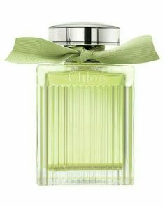 Perfume Bottle - Color Note:  Pale Lime/ Honeydew Green