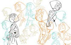 Perla Steven Universe, Steven Universe Movie, Universe News, Universe Art, Pearl Steven, Fanart, Storyboard Artist, Art Challenge, Cartoon Styles