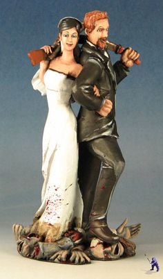 Victorious couple!!! I love that she has the shotgun (: