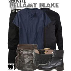 Inspired by Bob Morley as Bellamy Blake on The 100.