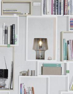 COSY IN GREY - Modern Scandinavian Design Table Lamp by Muuto - Muuto