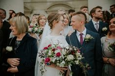 Bride and groom from a modern Northern City Wedding in Leeds. Images by Jamie Sia