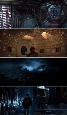 Alien (1979) | Cinematography by Derek Vanlint | Directed by Ridley Scott