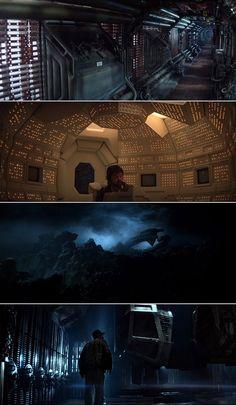Alien (1979) | Cinematography by Derek Vanlint | Directed by Ridley Scott
