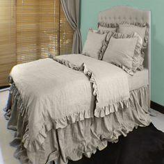 Washed Gray Linen Duvet Cover Queen French Ruffled Linen Duvet Bedding  Natural Bed Linen Comforter Cover 1,000×1,000 Pixels